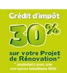 Logo Crédit d'impôt 30%